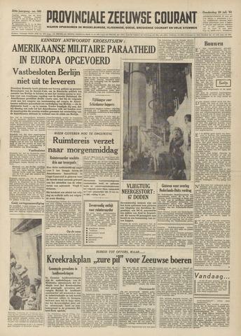 Provinciale Zeeuwse Courant 1961-07-20