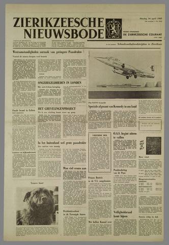 Zierikzeesche Nieuwsbode 1963-04-16