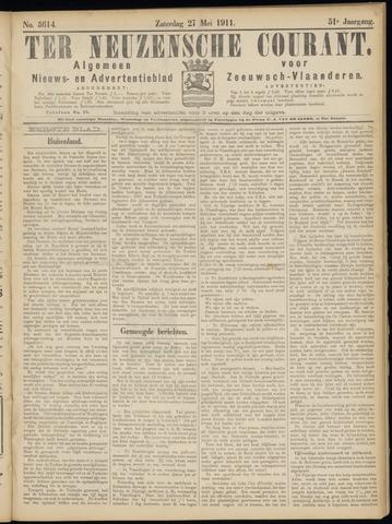Ter Neuzensche Courant. Algemeen Nieuws- en Advertentieblad voor Zeeuwsch-Vlaanderen / Neuzensche Courant ... (idem) / (Algemeen) nieuws en advertentieblad voor Zeeuwsch-Vlaanderen 1911-05-27