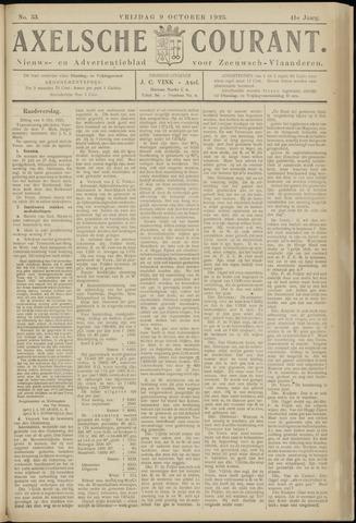 Axelsche Courant 1925-10-09