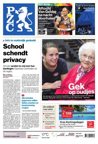 Provinciale Zeeuwse Courant 2016-08-10