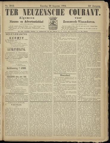 Ter Neuzensche Courant. Algemeen Nieuws- en Advertentieblad voor Zeeuwsch-Vlaanderen / Neuzensche Courant ... (idem) / (Algemeen) nieuws en advertentieblad voor Zeeuwsch-Vlaanderen 1884-08-30