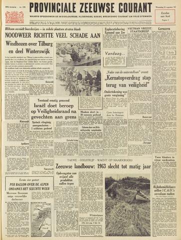 Provinciale Zeeuwse Courant 1963-08-21