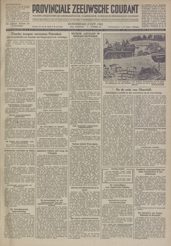 Provinciale Zeeuwse Courant 1941-10-02