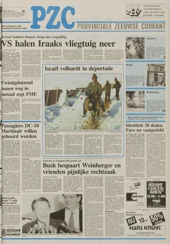 Provinciale Zeeuwse Courant 1992-12-28