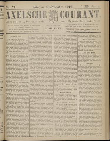 Axelsche Courant 1916-12-09
