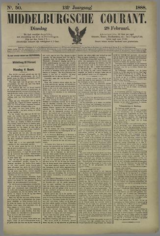 Middelburgsche Courant 1888-02-28