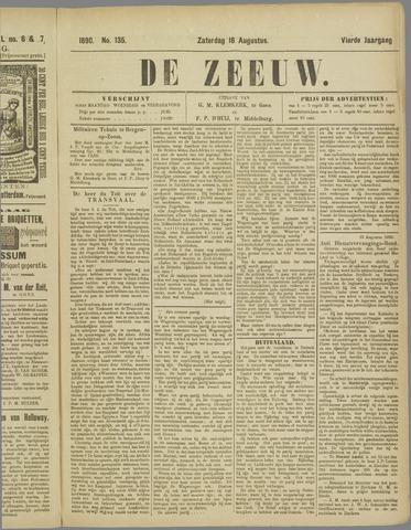 De Zeeuw. Christelijk-historisch nieuwsblad voor Zeeland 1890-08-16