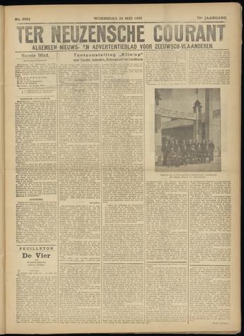 Ter Neuzensche Courant. Algemeen Nieuws- en Advertentieblad voor Zeeuwsch-Vlaanderen / Neuzensche Courant ... (idem) / (Algemeen) nieuws en advertentieblad voor Zeeuwsch-Vlaanderen 1933-05-24