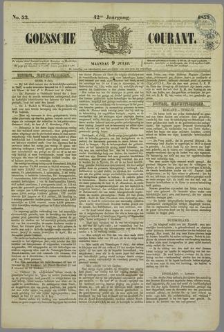 Goessche Courant 1855-07-09