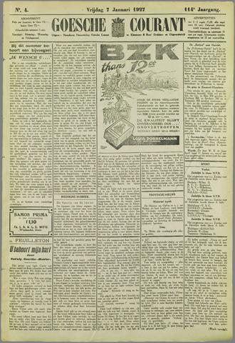 Goessche Courant 1927-01-07