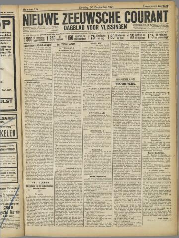 Nieuwe Zeeuwsche Courant 1921-09-20