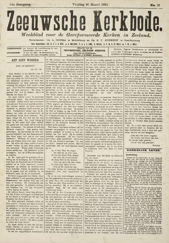 Zeeuwsche kerkbode, weekblad gewijd aan de belangen der gereformeerde kerken/ Zeeuwsch kerkblad 1920-03-26