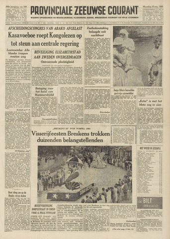 Provinciale Zeeuwse Courant 1960-08-15