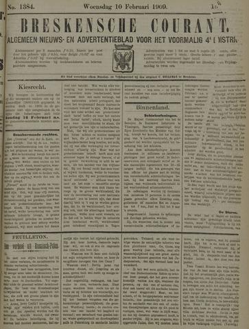 Breskensche Courant 1909-02-10