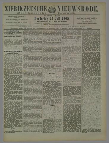 Zierikzeesche Nieuwsbode 1905-07-27