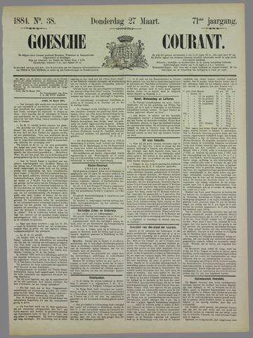 Goessche Courant 1884-03-27