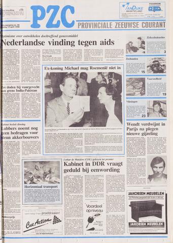 Provinciale Zeeuwse Courant 1990-04-13