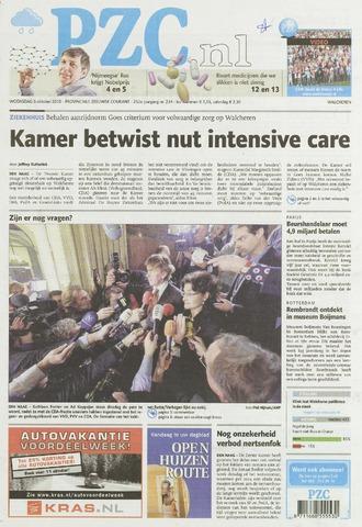 Provinciale Zeeuwse Courant 2010-10-06