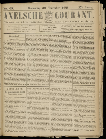Axelsche Courant 1921-11-30