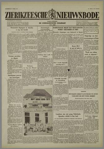Zierikzeesche Nieuwsbode 1958-04-10