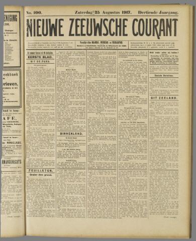 Nieuwe Zeeuwsche Courant 1917-08-25