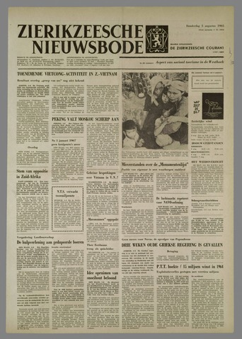 Zierikzeesche Nieuwsbode 1965-08-05