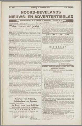 Noord-Bevelands Nieuws- en advertentieblad 1940-12-21