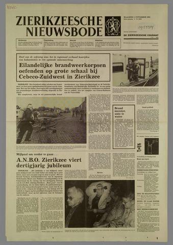 Zierikzeesche Nieuwsbode 1984-11-05