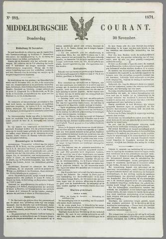 Middelburgsche Courant 1871-11-30