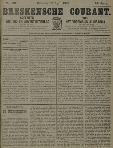 Breskensche Courant 1905-04-22