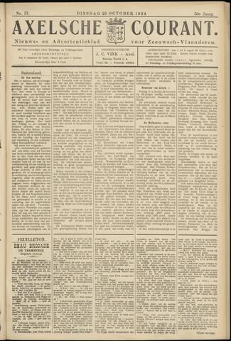 Axelsche Courant 1934-10-23