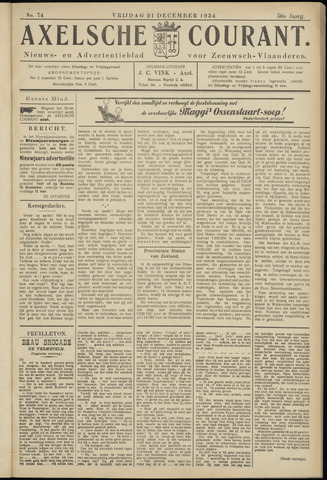 Axelsche Courant 1934-12-21