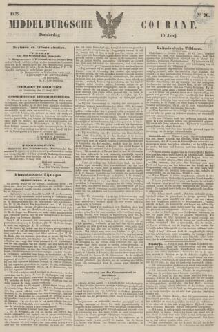 Middelburgsche Courant 1852-06-10
