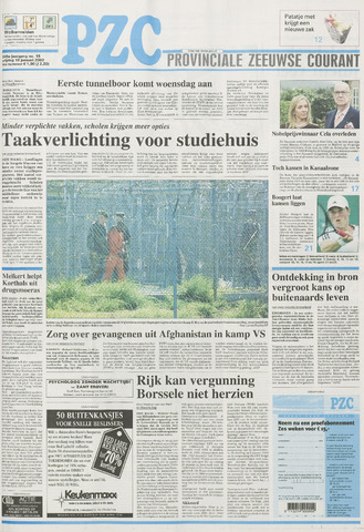 Provinciale Zeeuwse Courant 2002-01-18