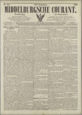 Middelburgsche Courant 1895-09-12