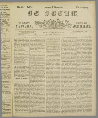 De Zeeuw. Christelijk-historisch nieuwsblad voor Zeeland 1906-11-09