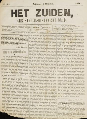 Het Zuiden, Christelijk-historisch blad 1876-10-07