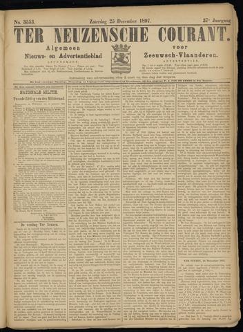 Ter Neuzensche Courant. Algemeen Nieuws- en Advertentieblad voor Zeeuwsch-Vlaanderen / Neuzensche Courant ... (idem) / (Algemeen) nieuws en advertentieblad voor Zeeuwsch-Vlaanderen 1897-12-25
