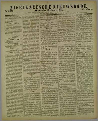Zierikzeesche Nieuwsbode 1889-03-21