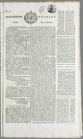 Zierikzeesche Courant 1824-09-03