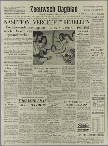 Zeeuwsch Dagblad 1959-05-04