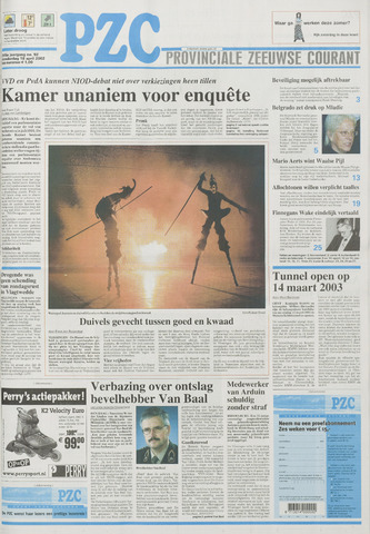 Provinciale Zeeuwse Courant 2002-04-18