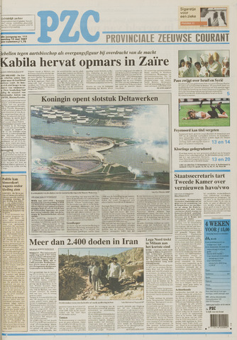 Provinciale Zeeuwse Courant 1997-05-12