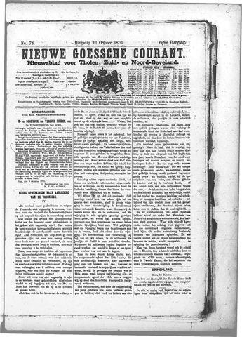 Nieuwe Goessche Courant 1870-10-11