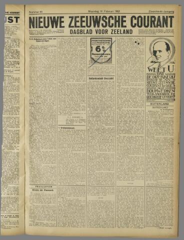 Nieuwe Zeeuwsche Courant 1921-02-14