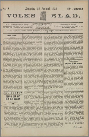 Volksblad 1922-01-28