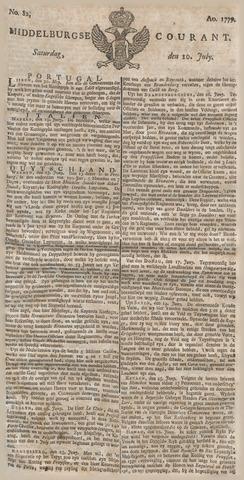 Middelburgsche Courant 1779-07-10