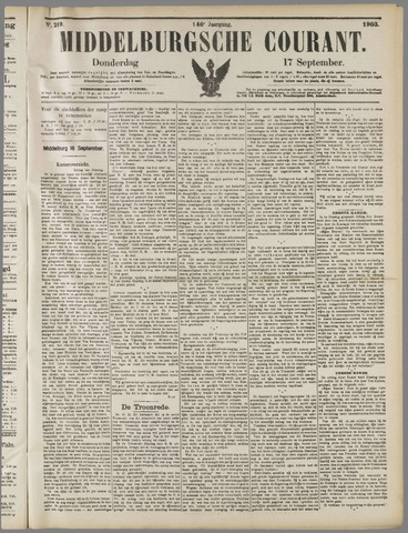 Middelburgsche Courant 1903-09-17
