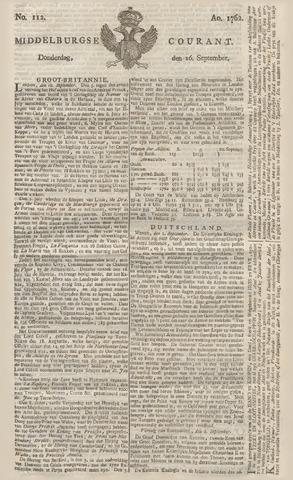 Middelburgsche Courant 1762-09-16